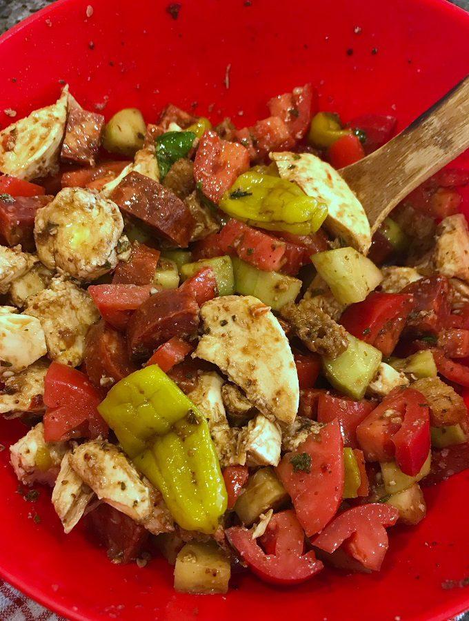 Italian-Style Panzanella Salad