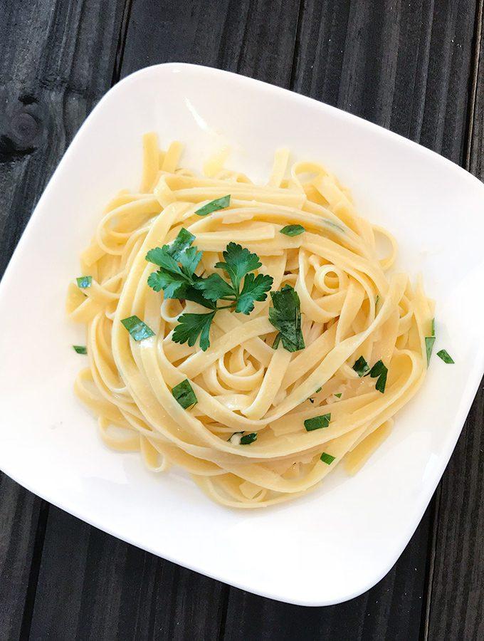 Classic Fettuccine Alfredo