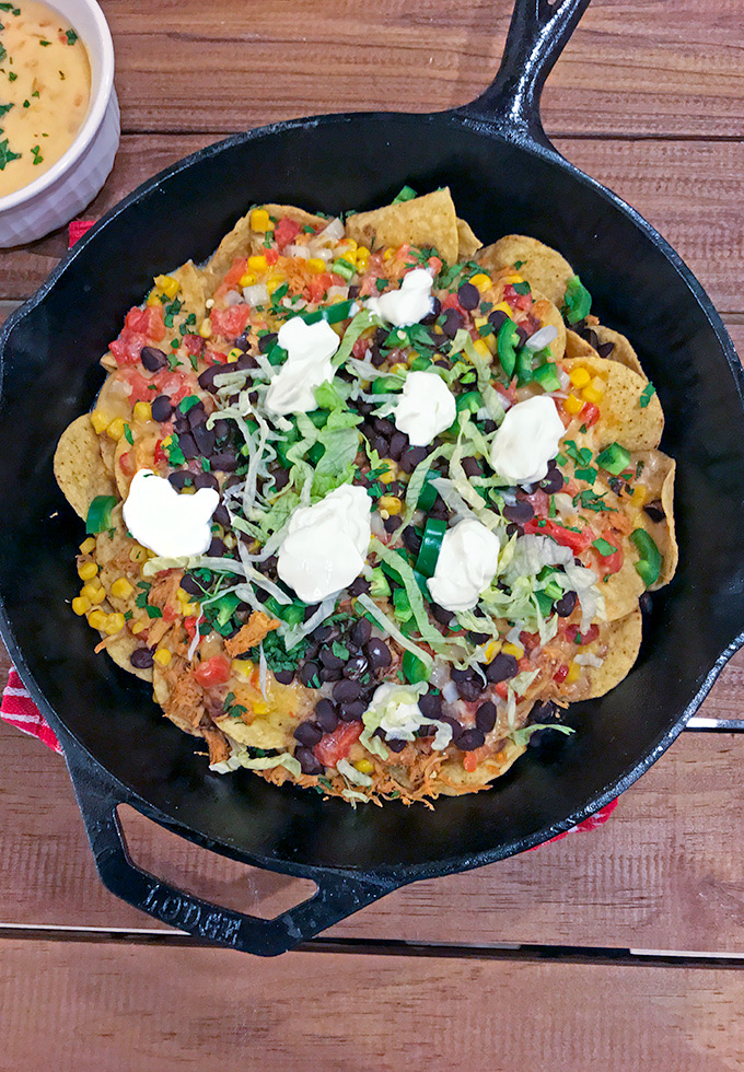 Barbecue Chicken Nachos