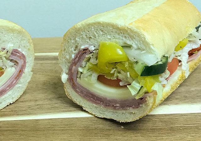 Delicious Spicy Italian Sandwich