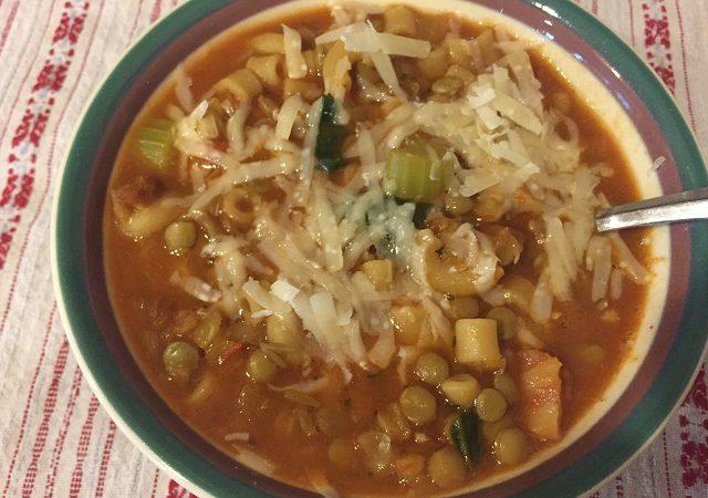 Lentil Soup with Pancetta