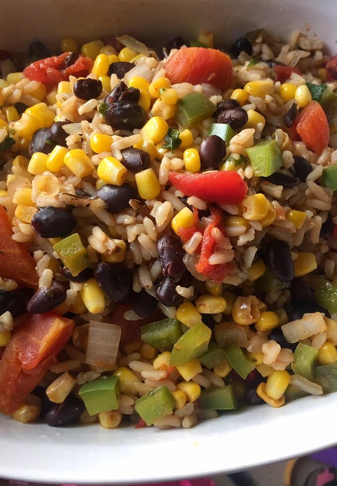 Southwest Style Rice.