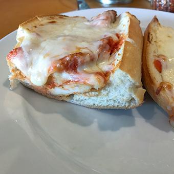 Sciortinos Trattoria Chicken Parmigiana Sub Sandwich