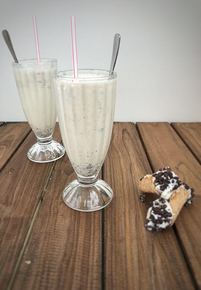 Vanilla Cannoli Milkshake